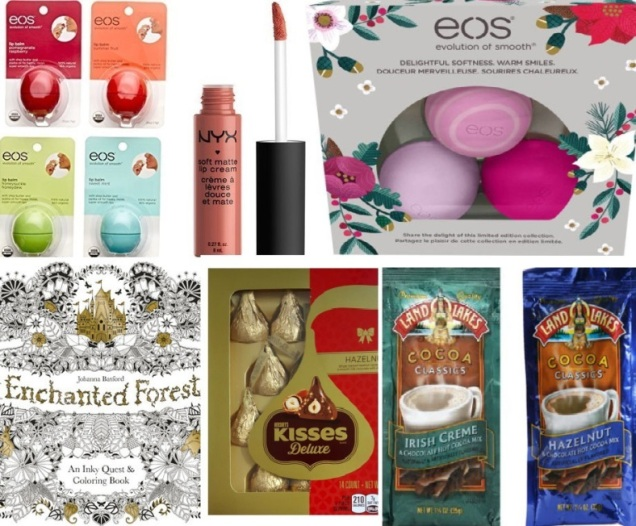 EOS, Hershey's, Hot Cocoa Mix, NYX beauty, Coloring Book