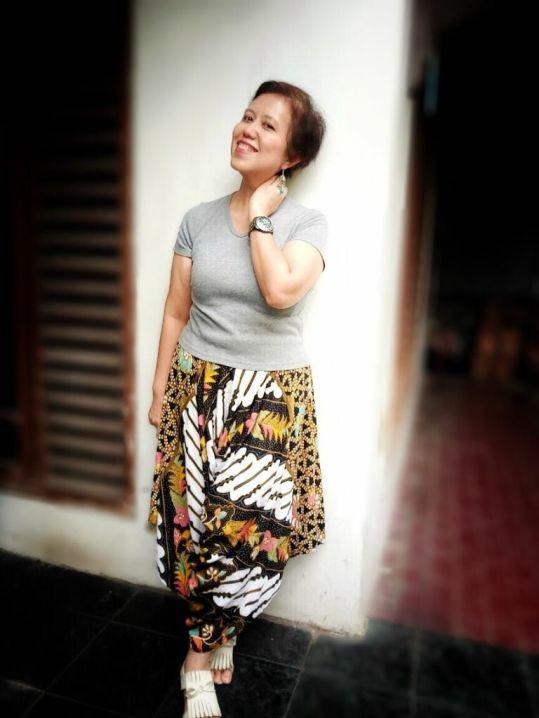 Batik culotte at Amirashopp