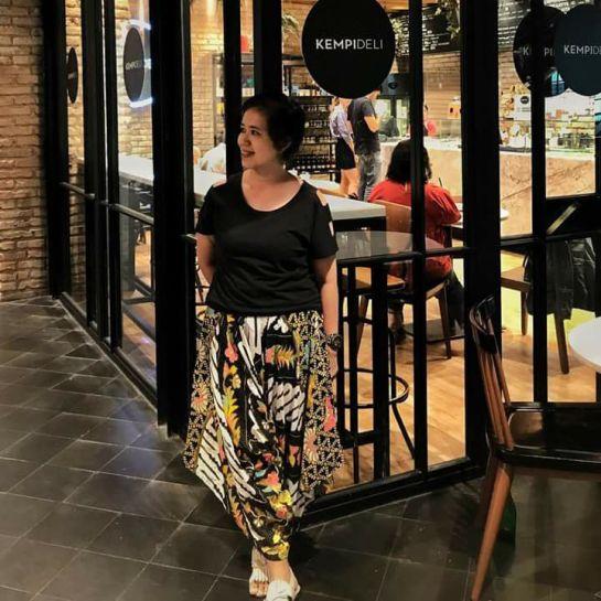 Bought Batik Culotte at Amirashopp